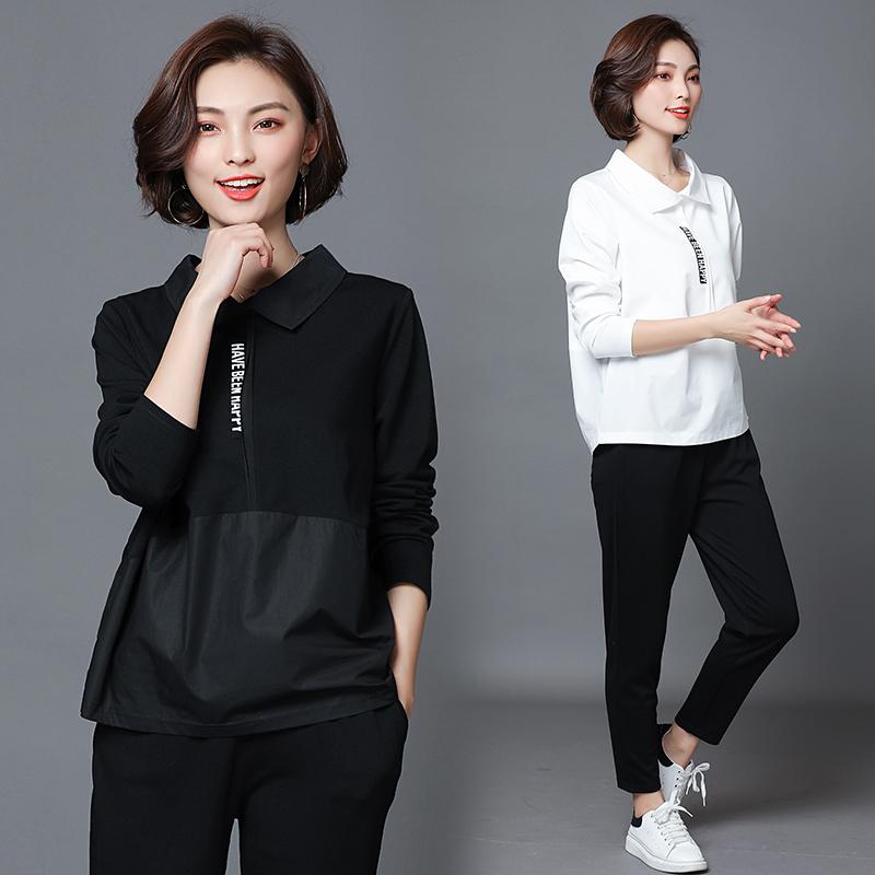 热销12件手慢无早秋季大码女装韩版洋气时髦遮肚子