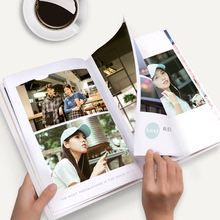Photo book customized photo album DIY production of lovers graduation baby photos and made into a Book Manual album