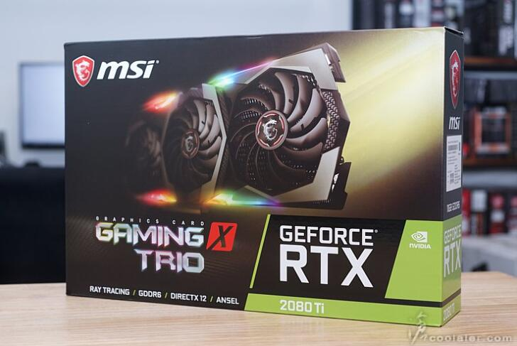 MSI微星 GeForce RTX 2080 Ti GAMING X TRIO 魔龙 11GB 游戏显卡