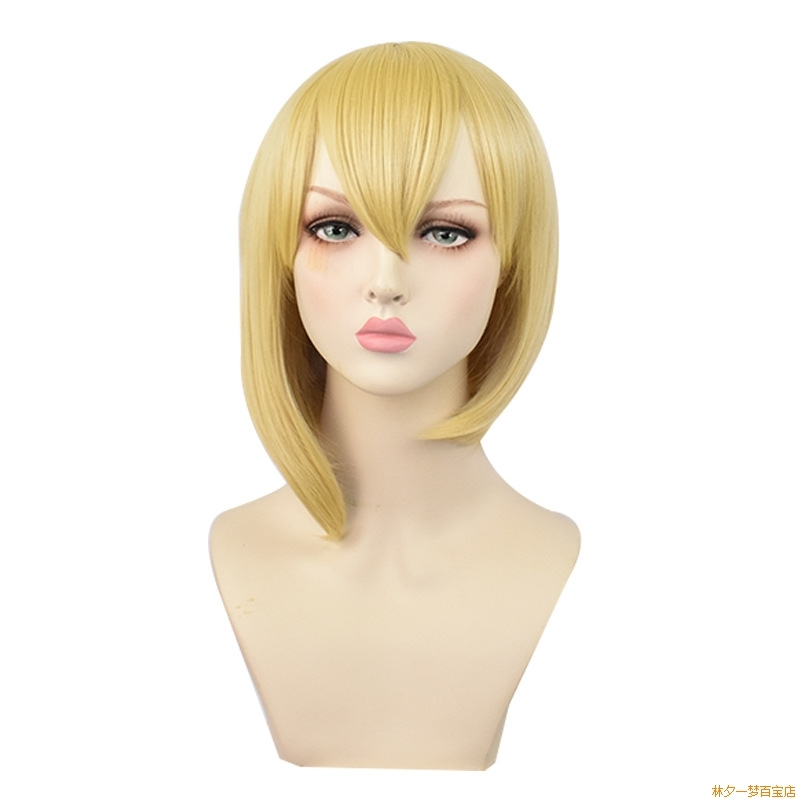 Floating art tomorrow ark Dulin cos wig student hair Bobo head role play spot second hair