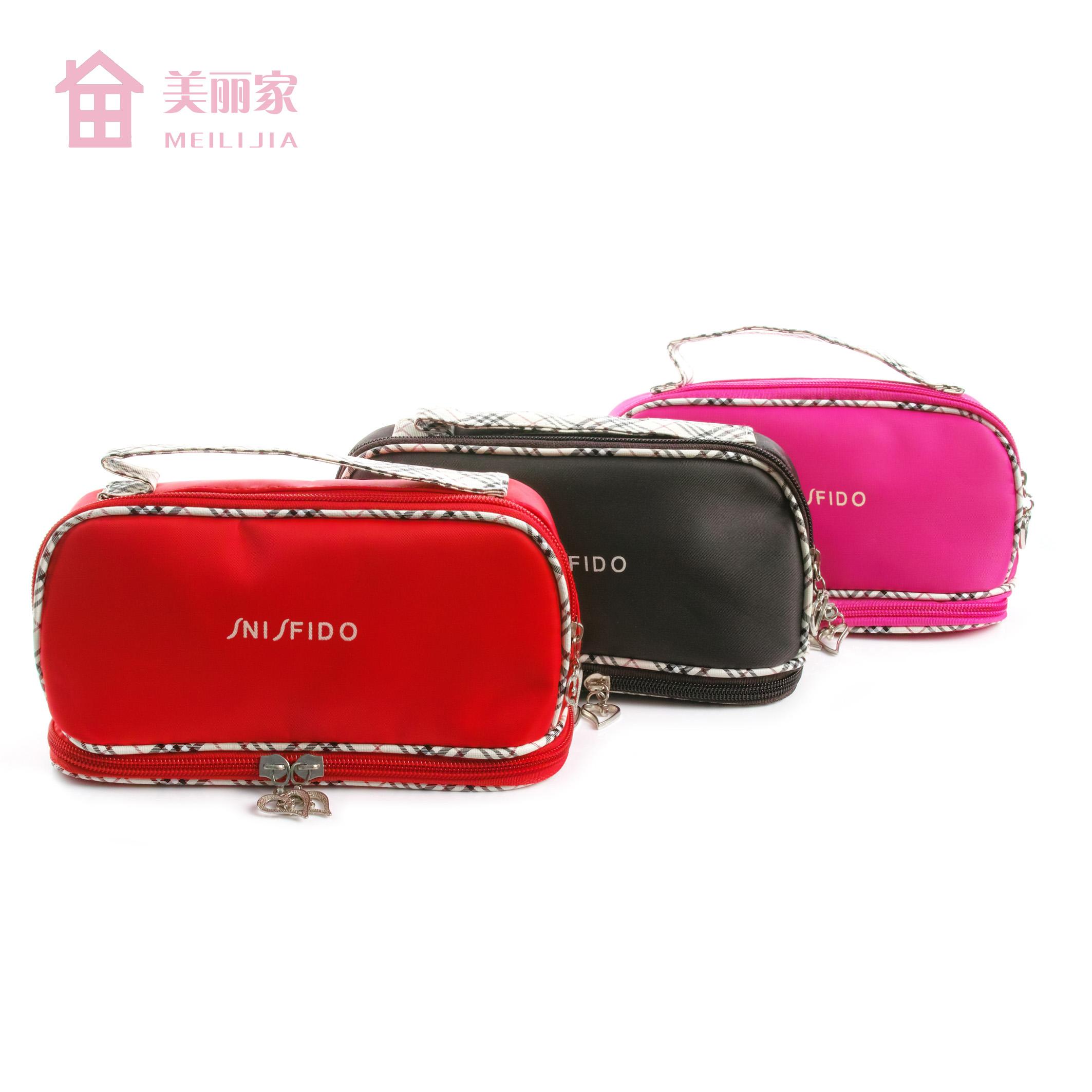 Korean cosmetic bag storage bag womens large capacity cosmetic bag small hand bag Portable Mini Cosmetic Bag