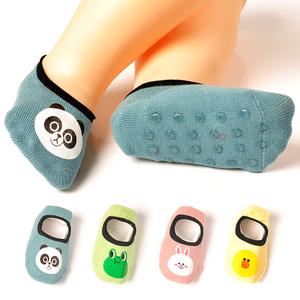 儿童袜子防滑地板袜纯棉春秋夏季薄款宝宝鞋袜套软底室内婴儿学步