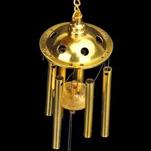 铜风铃门挂饰 六管麒麟金属铜铃铛
