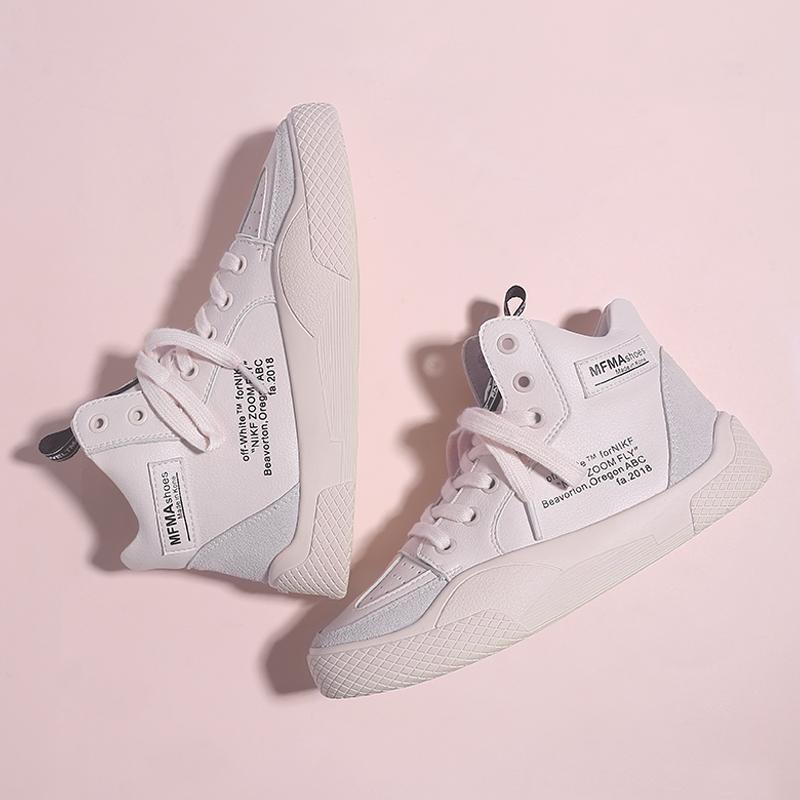 2019秋款新款韩版学生篮球小白鞋五折促销