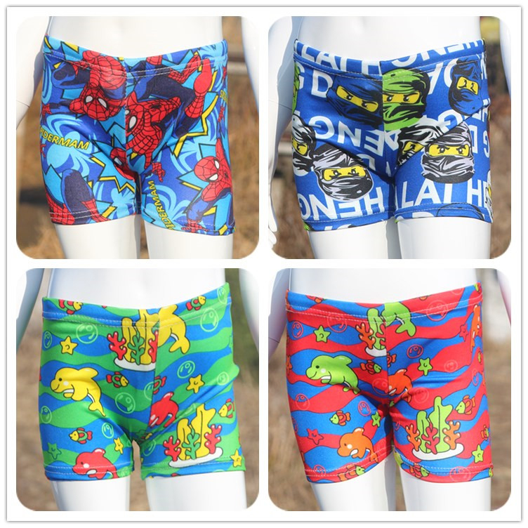 Childrens swimming trunks and swimsuits for boys and girls
