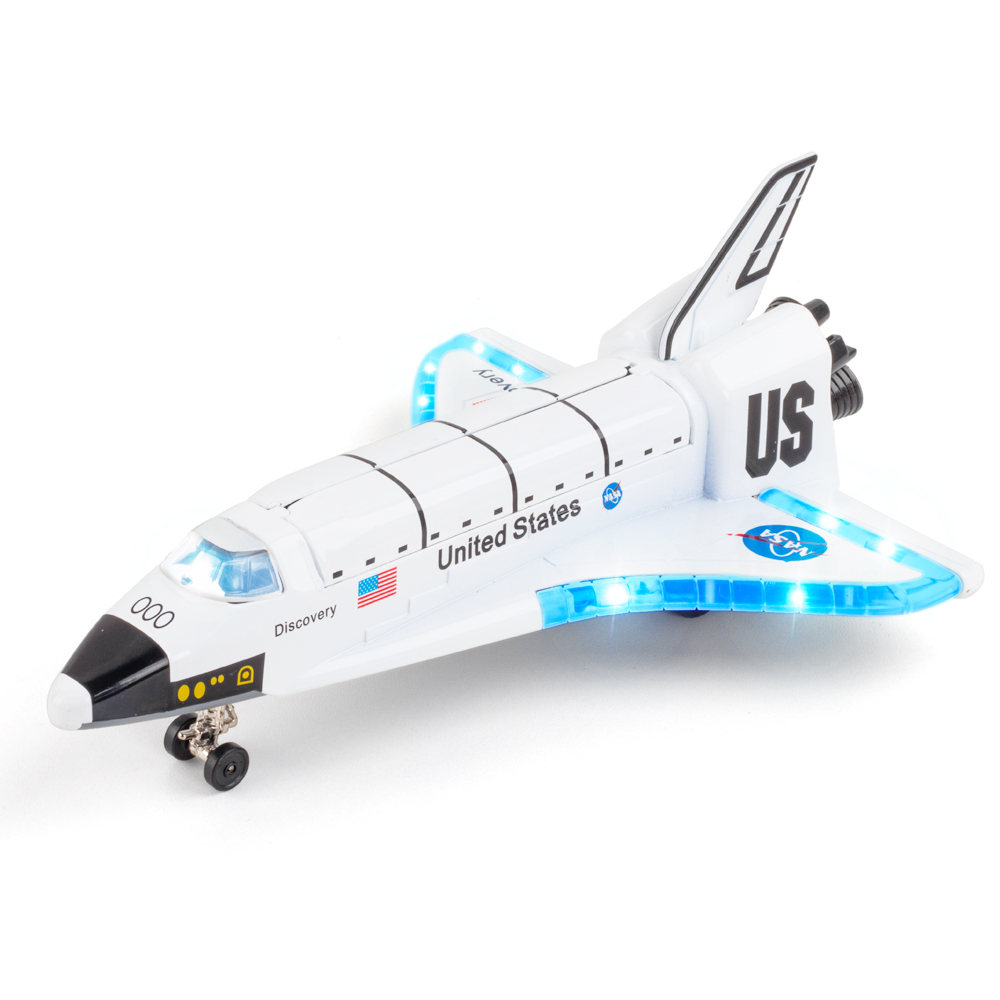 哥伦比亚宇宙飞船载人火箭太空穿梭机合金航天飞机模型玩具摆件