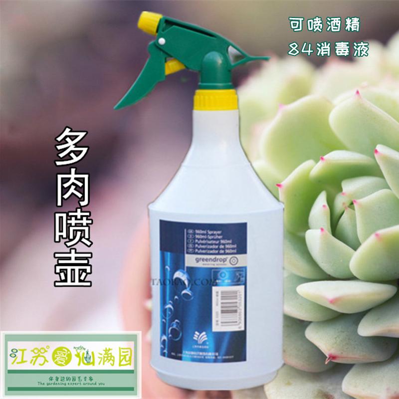 品牌喷壶浇水壶雾化喷雾器喷水壶浇花壶960mL刻度清晰可使消毒剂