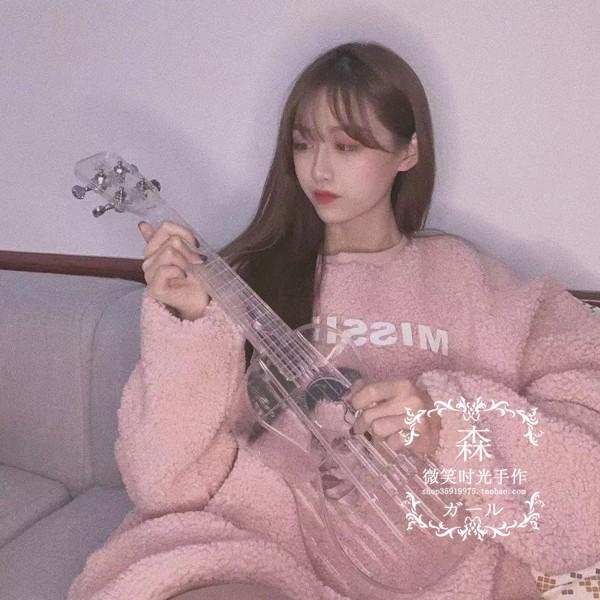 byla透明尤克里里23寸单板初学乌克丽丽演奏ukulele户外乌克里里