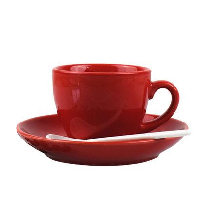 100ml欧式陶瓷咖啡杯套装拿铁杯