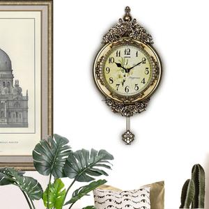 领5元券购买创意家居装饰品树脂工艺礼物挂钟
