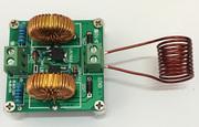 迷你ZVS高频感应加热机 特斯拉高压发生器线圈雅各布天梯套件模块