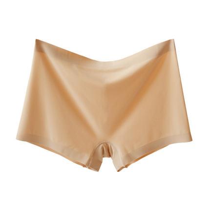 冰丝女无痕莫代尔平角裸穿两用内裤