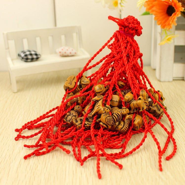 幸运红绳手链 编织红绳饰品 礼物赠品1358-sp01-P0.1