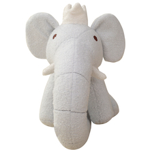 Elephant doll plush toy long nose elephant pillow doll crown elephant baby sleeping pillow doll