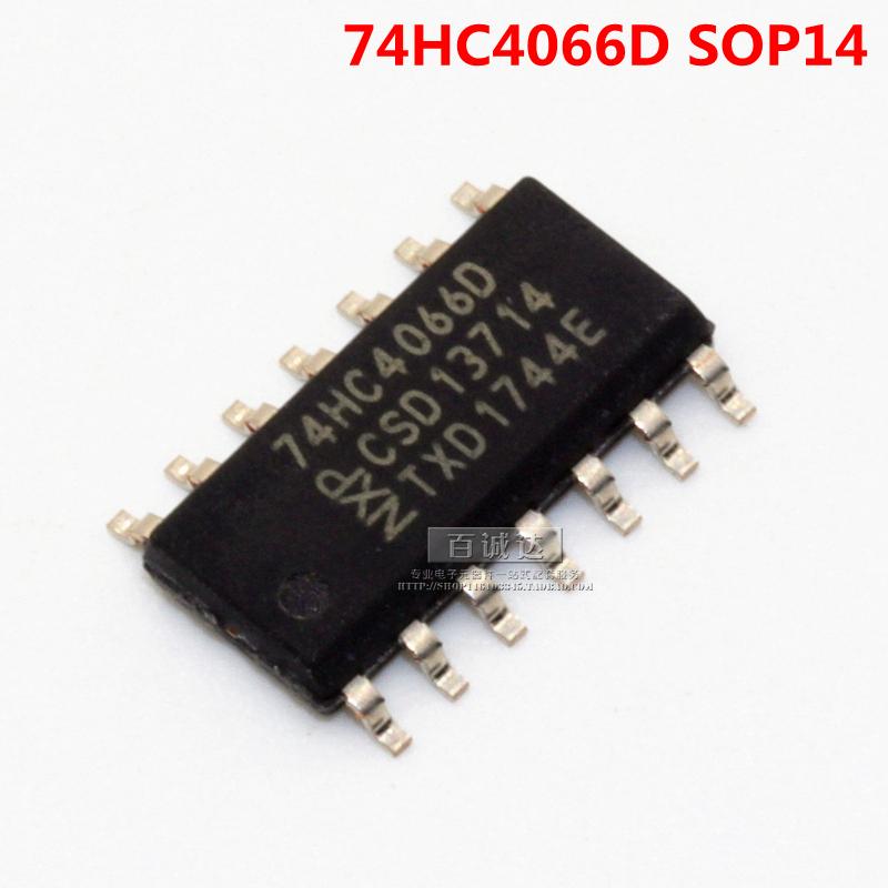 原装 SN74HC4066DR 74HC4066D SOP-14 逻辑芯片 四重双向转换开关,可领取元淘宝优惠券