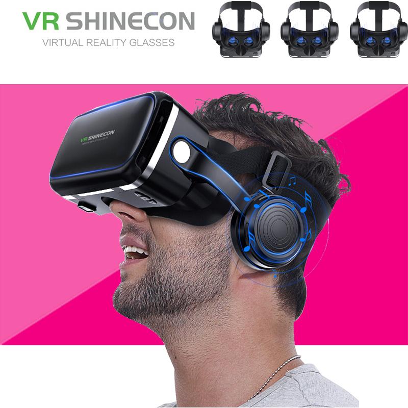 千幻魔镜vr眼镜手机专用3D眼镜游戏vr眼睛一体机ar6代shinecon
