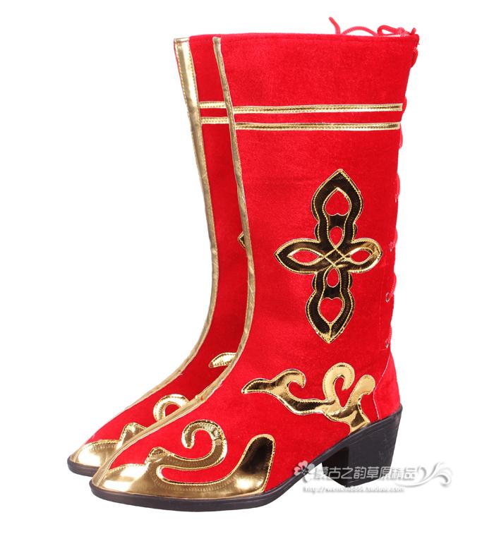 Монголия гонка танец ботинки модели жа народ танец обувной высокий танец ботинок лошадь ботинок тибет гонка обувь