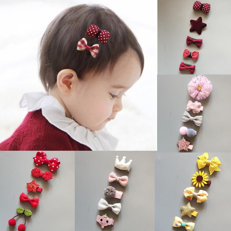 Baby hair accessories headdress childrens hair accessories baby hairpin Set Princess Crown childrens hairpin no sweat hairpin
