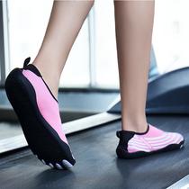 涉水五指袜子鞋瑜伽鞋女软底防滑室内健身跑步机鞋女专用游泳鞋女