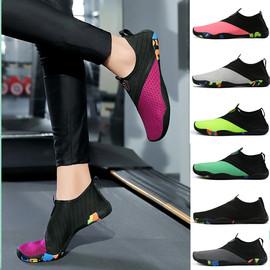 運動鞋女健身房專用瑜伽女軟底防滑跳繩鞋綜合訓練鍛煉鞋跑步機鞋圖片