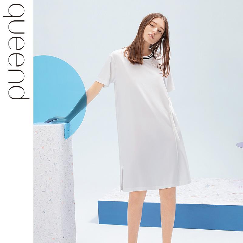 淳度莫代尔棉夏季宽松短袖女睡衣(用89元券)