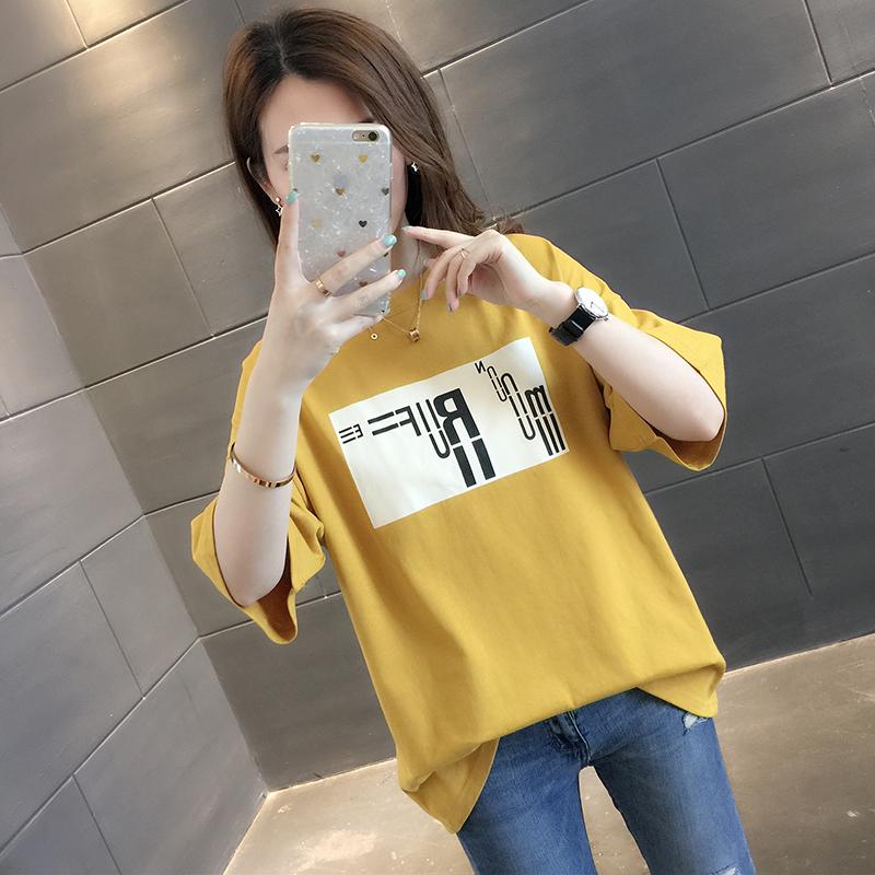 热销988件包邮超火cec短袖2019新款潮宽松体恤衫