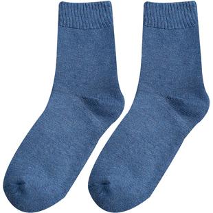 男士高帮潮流秋冬季长筒加绒袜子