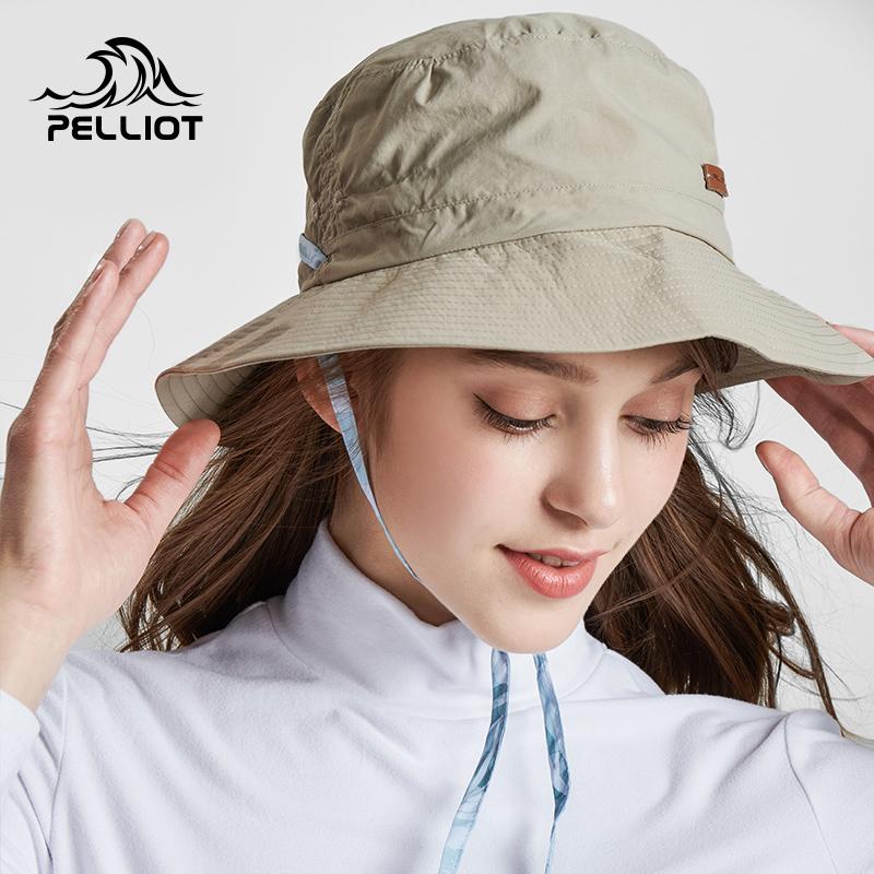 (用20元券)伯希和户外钓鱼防晒帽 夏季垂钓渔夫帽透气遮阳旅游休闲太阳帽子