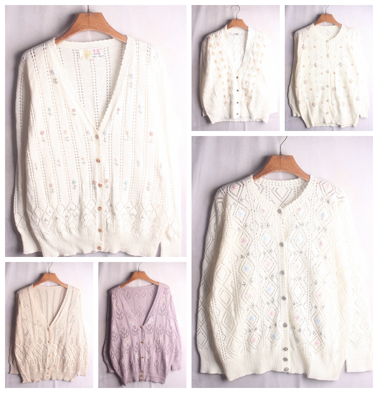 Vintage autumn and winter pullover, vintage, ethnic style, pop style animal sweater 201