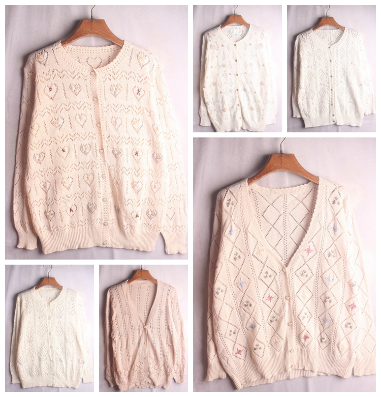 Vintage autumn and winter pullover, retro orphan national style contrast pop style animal sweater 193
