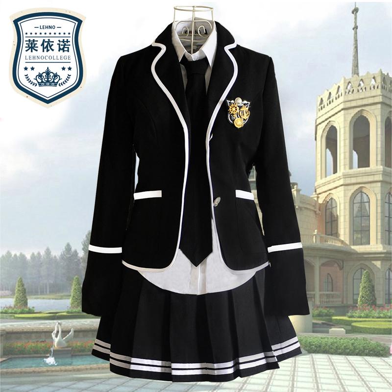 英伦学院风韩国校服套装女jk制服日本水手服高中班服韩版学生装