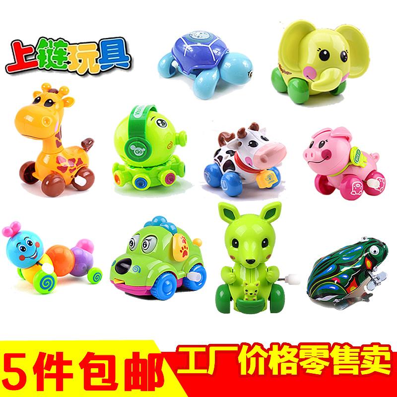 Земля стенд лягушка ребенок небольшой игрушка заводной 0-1 младенец младенец дети животное на Hyun на цепи заводной игрушка оптовая торговля