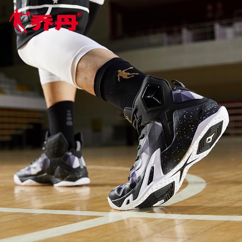 乔丹篮球鞋男高帮运动鞋男字母哥新款减震耐磨科比毒液5战靴球鞋