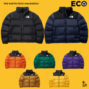 The TNF黑橙藏蓝黄粉北面羽绒服NJ1DL50A North NUPTSE Face 1996