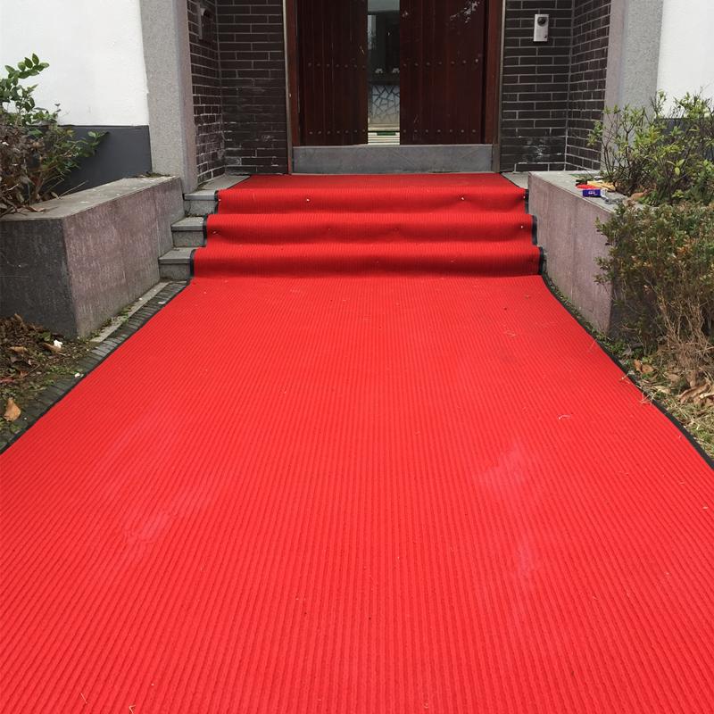 商用满铺办公室走廊吸水防滑楼梯地毯地垫加厚酒店宾馆迎宾红地毯