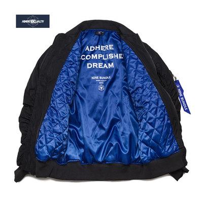 JK自制 日系棒球服夹克男 冬季欧美加棉服加厚ma1飞行员棉衣外套