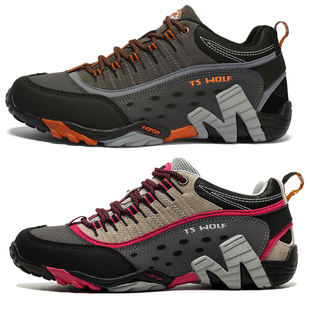女鞋 户外情侣登山鞋 美国外贸原单正品 防水防滑高帮耐磨徒步男鞋
