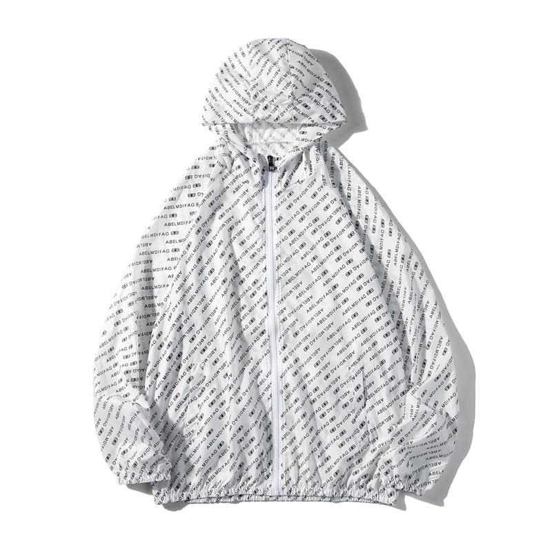 夏季夹克男超薄款冰丝皮肤衣学生防晒衣服情侣装外套1FS6019-P25