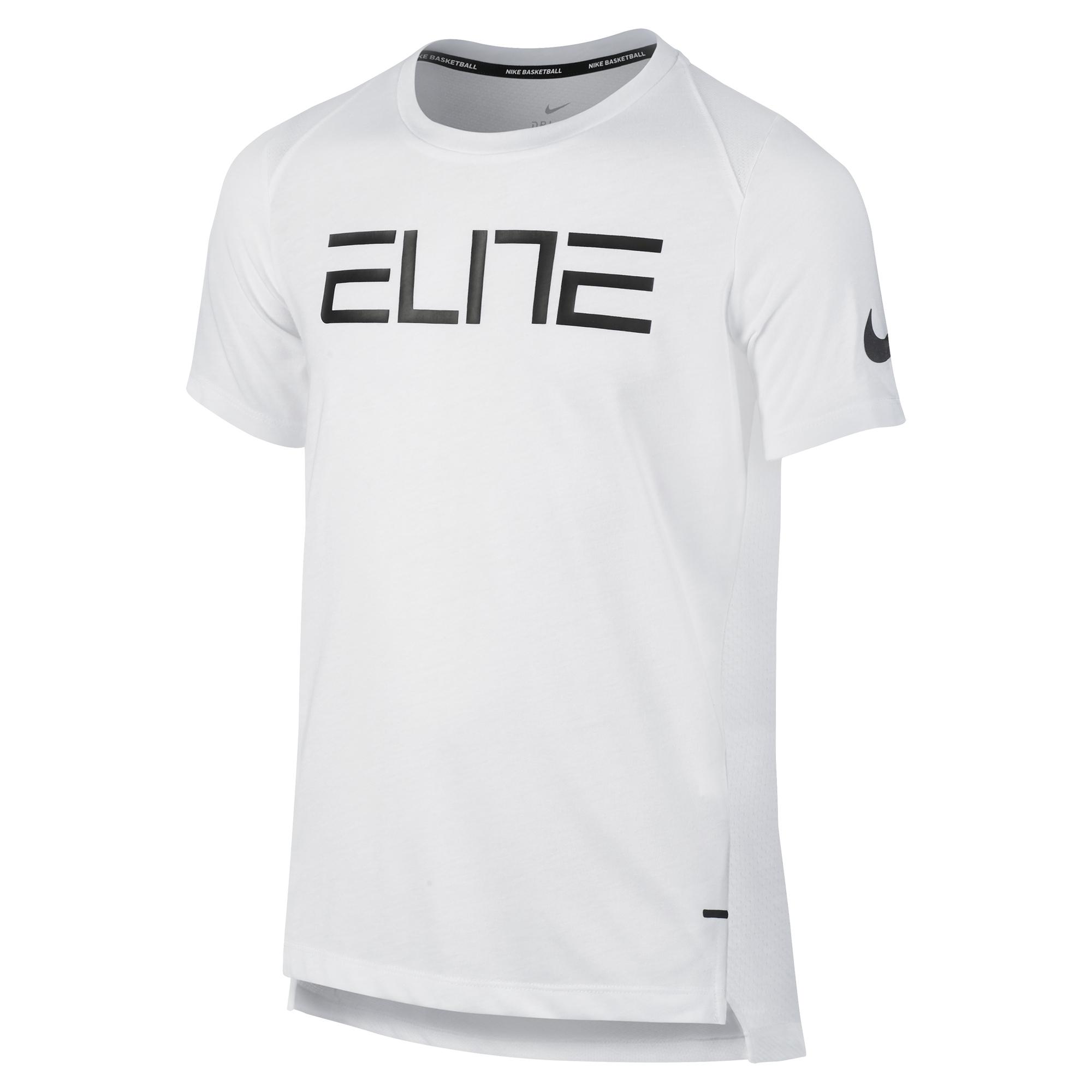 Nike 耐克官方 NIKE ELITE 大童(男孩)籃球上衣 832515