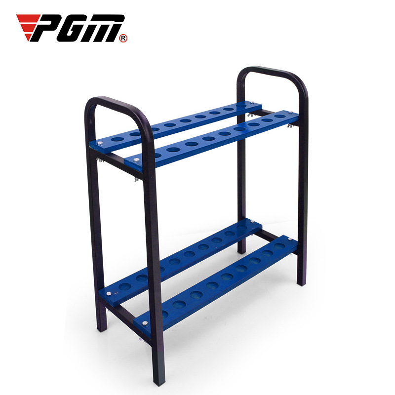PGM Golf Club rack golf course supplies display rack Club placement rack 18 pole positions