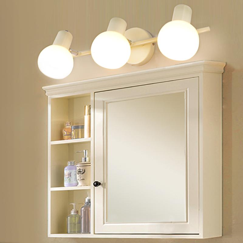 美式镜前灯led卫生间浴室洗手间梳妆化妆镜柜灯个性简约现代镜灯
