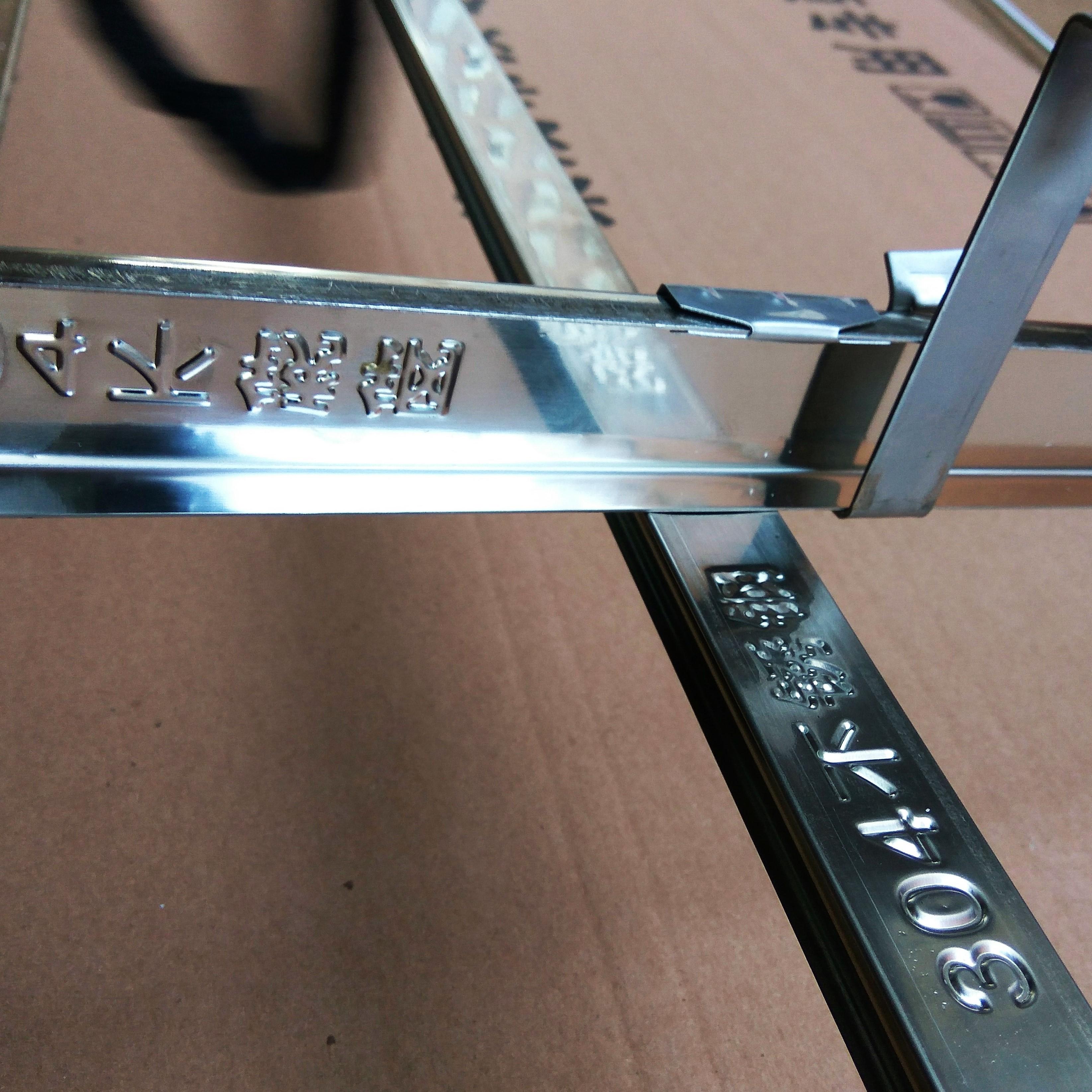 真正304不锈钢集成吊顶三角龙骨