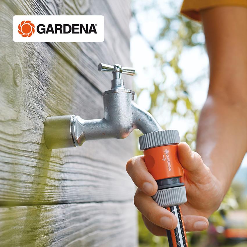 Импорт из германии GARDENA высококачественных медь желчный пузырь антифриз анти солнце 4 филиал сад балкон на открытом воздухе кран