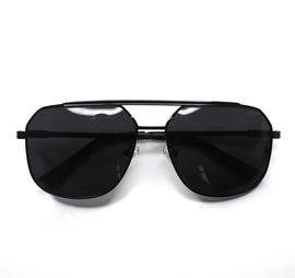 配眼镜找老罗推荐 红狼男款胖脸型UV400高清偏光太阳镜 8087图片