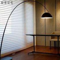 新款设计师后现代简约创意大气墨水笔客厅钓鱼灯落地灯装饰落地灯