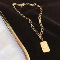 锁骨吊坠情侣私人订制礼物银色刻字定制字母项链男女MonacoAPM