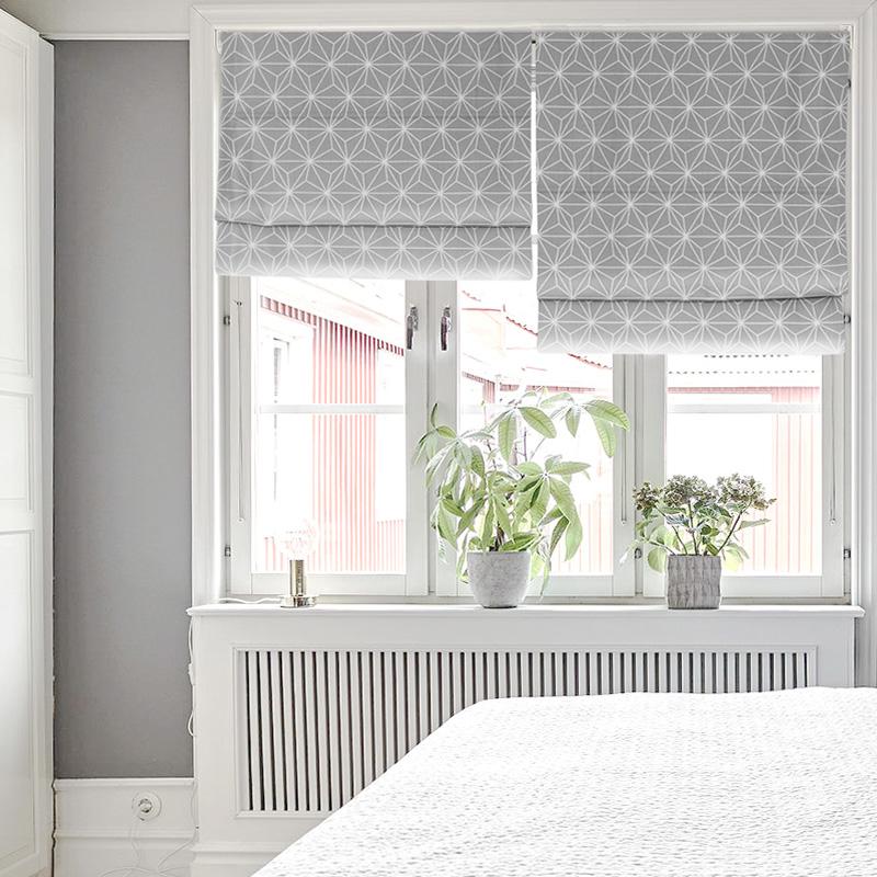 Нордический простой современный сетка рим занавес лифтинг занавес гостиная спальня поднять окно занавес подвижный затенение ткань сделанный на заказ