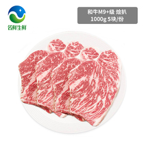 Snowflake Beef Family Package Group Purchase imported Australian M9 class purebred and bovine 5 pieces of raw fresh snowflake steak
