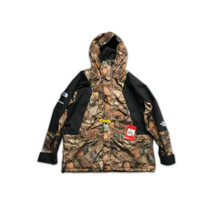 FW16 SUPREME X TNF MOUNTAIN LIGHT LEAVES 落叶冲锋衣