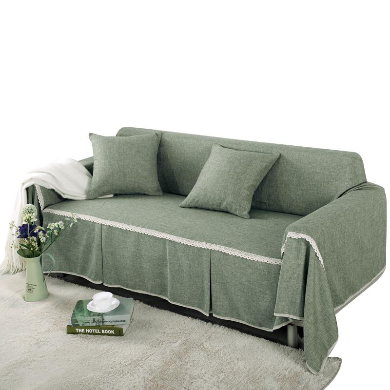 北欧纯色沙发盖布全盖网红风沙发套(用5元券)